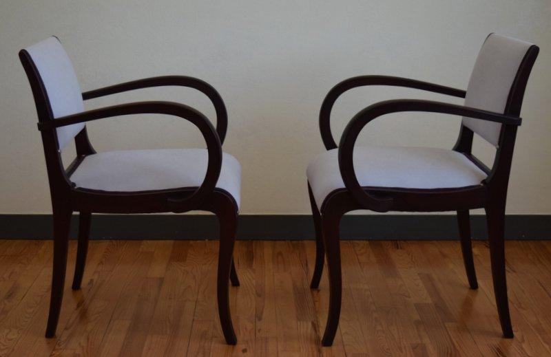 Paire fauteuil Bridge